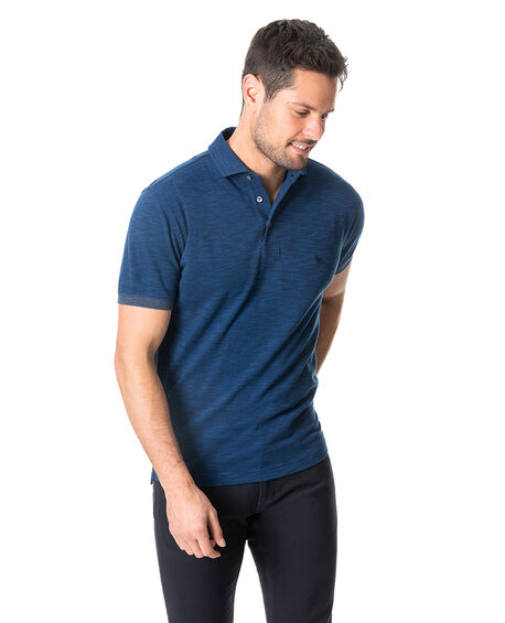 Hampstead Sports Fit Polo, NAVY, hi-res