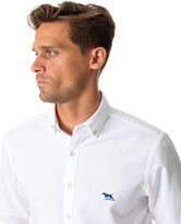 North Island Oxford Sports Fit Shirt, SNOW, hi-res