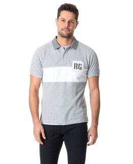 Murphy Road Sports Fit Polo, SMOKE, hi-res