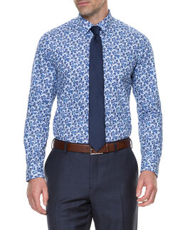 Cornhill Shirt/Bluebell 38, BLUEBELL, hi-res