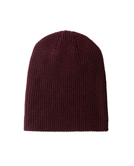 Big Hill Rd Beanie, BURGUNDY, hi-res
