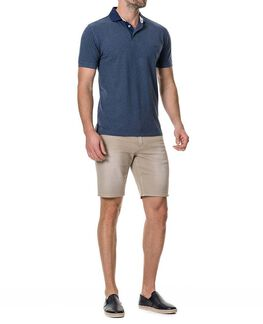 Westdome Sports Fit Polo/Navy XS, NAVY, hi-res