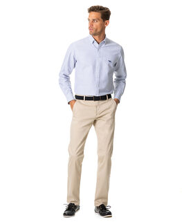 South Island Oxford Sports Fit Shirt/Royal XS, ROYAL, hi-res