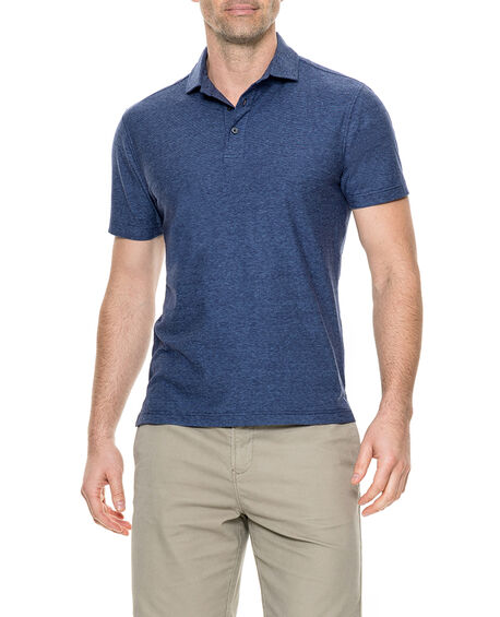 Taylors Creek Sports Fit Polo, ECLIPSE, hi-res
