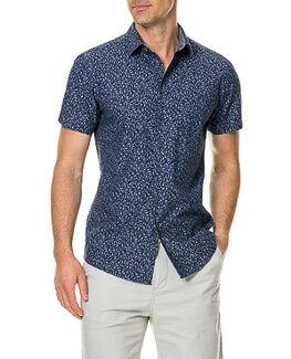 Douglas Corner Sports Fit Shirt, NAVY, hi-res
