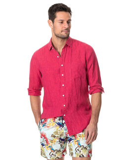 Coromandel Sports Fit Shirt, POMEGRANATE, hi-res