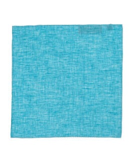Chancery Street Pocket Square, TEAL, hi-res
