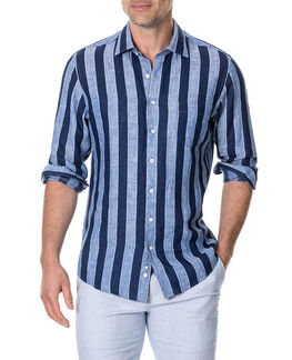 Parsons Hill Sports Fit Shirt/River XS, RIVER, hi-res
