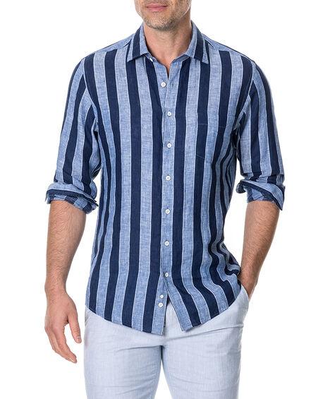 Parsons Hill Sports Fit Shirt, RIVER, hi-res