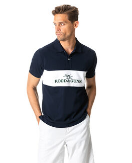 Ealing Sports Fit Polo, TRUE NAVY, hi-res