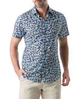 Cape Wanbrow Sports Fit Shirt/Stonewash XS, STONEWASH, hi-res