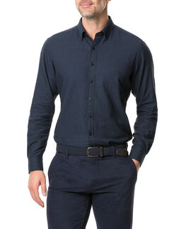 Young Road Sports Fit Shirt/Midnight XS, MIDNIGHT, hi-res
