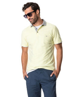 Leigh Sports Fit Polo, CITRUS, hi-res
