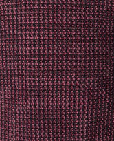 Cain Flat Knit, BURGUNDY, hi-res
