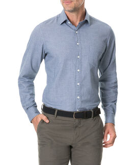 Nolantown Sports Fit Shirt/Chambray XS, CHAMBRAY, hi-res