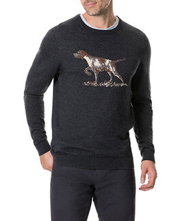 Calderwell Sweater, CHARCOAL, hi-res