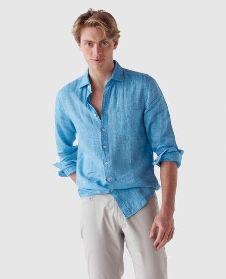 Coromandel Sports Fit Shirt, COBALT, hi-res