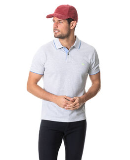 Milford Sports Fit Polo, SMOKE, hi-res