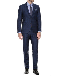 Finsbury Slim Fit Jacket/Twilight 36R, TWILIGHT, hi-res