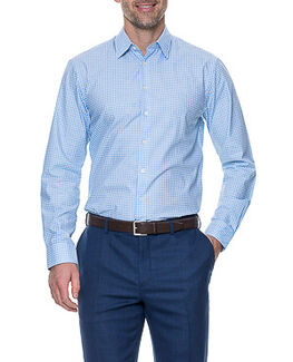 Tudor Tailored Shirt/Sky XS, SKY, hi-res