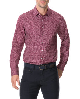 Longbeach Sports Fit Shirt/Bordeaux LG, BORDEAUX, hi-res