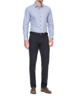 Macauley Sports Fit Shirt/Royal XS, ROYAL, hi-res