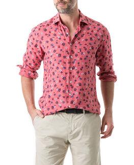 Islington Bay Sports Fit Shirt/Watermelon XS, WATERMELON, hi-res