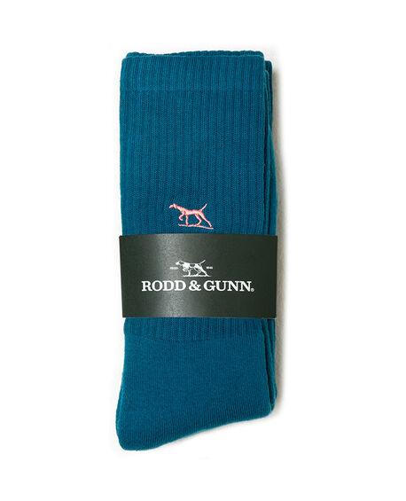 Gunner Three Pack Sock, PACIFIC, hi-res