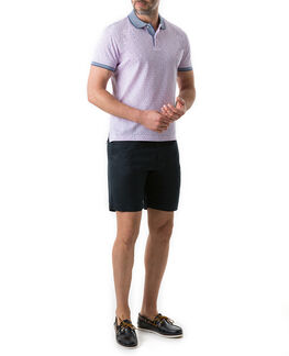 Willow Flat Sports Fit Polo, QUARTZ, hi-res