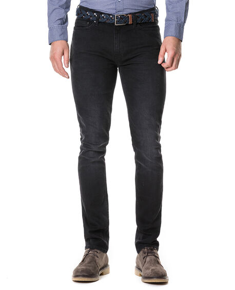 Balfour Straight Jean, WASHED BLACK, hi-res
