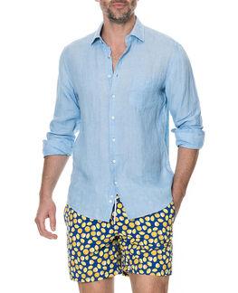 Harris Bay Sports Fit Shirt, STONEWASH, hi-res