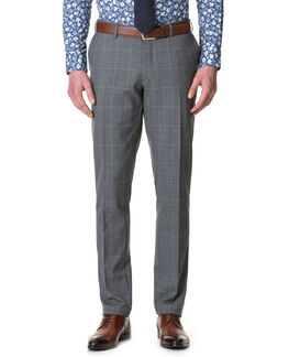 Monkwell Slim Fit Pant/Ash 30, ASH, hi-res