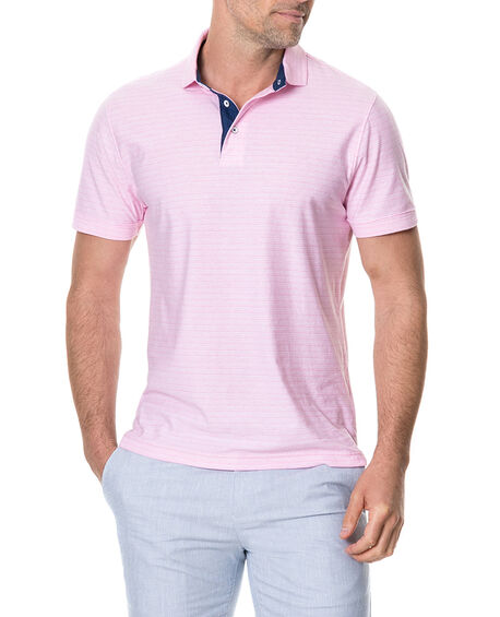Gainford Sports Fit Polo, ROSE, hi-res