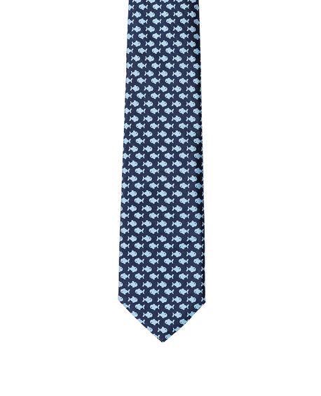 Condell Avenue Tie, MARINE, hi-res