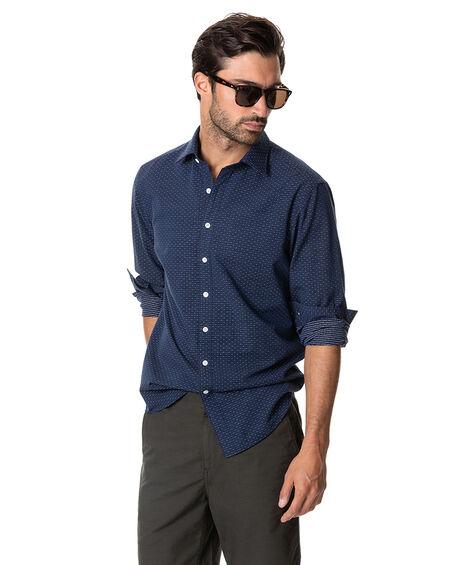 Melford Shirt, MARINE, hi-res