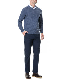 Arbors Track Knit, DENIM, hi-res