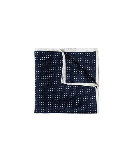 Pulton Place Pocket Square/Midnight 1, MIDNIGHT, hi-res