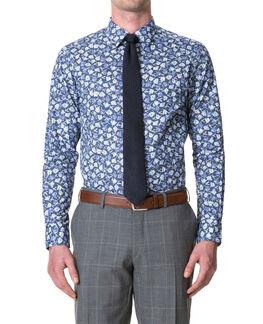 Coopers Row Slim Fit Shirt/Peacoat 38, PEACOAT, hi-res