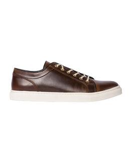 Aria Lace-Up Sneaker/Bourbon 43, BOURBON, hi-res