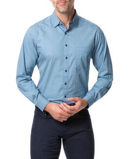 Terraces Sports Fit Shirt/Lagoon XS, LAGOON, hi-res