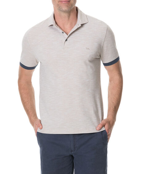 Hampstead Sports Fit Polo, NATURAL, hi-res