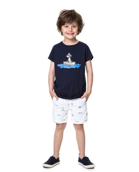 Boys Little Barrier T-Shirt , , hi-res