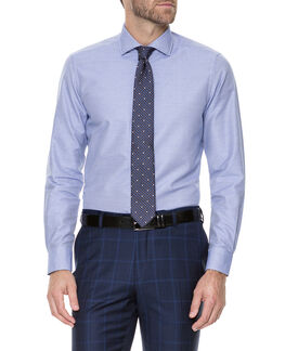Allhallows Slim Fit Shirt/Royal 38, ROYAL, hi-res