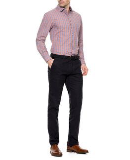 Kings Wharf Shirt/Tangelo XS, TANGELO, hi-res