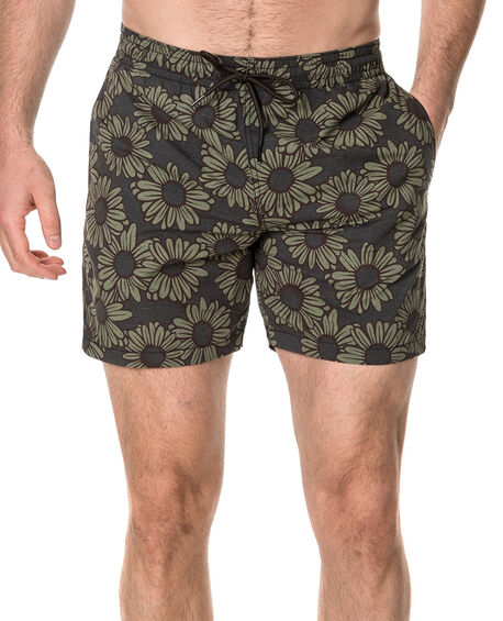 The Pines Swim Short, CHARCOAL, hi-res