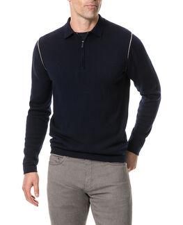 Revill Reserve Sweater, MARINE, hi-res