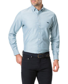 Vincent Street Sports Fit Shirt, SAGE, hi-res