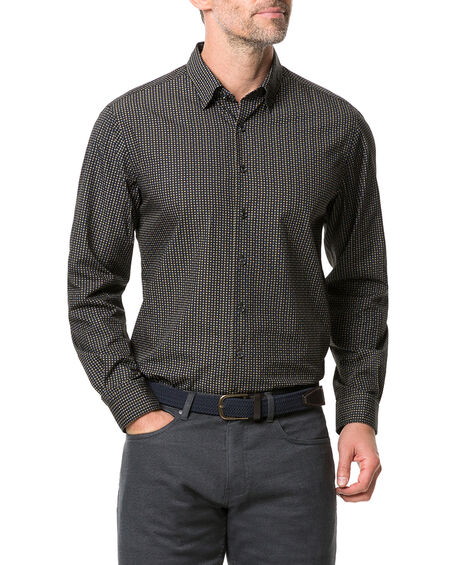Vinegar Hill Sports Fit Shirt, ONYX, hi-res