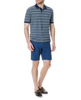 Nelson Creek Polo/Navy XS, NAVY, hi-res