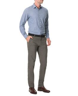 Nolantown Sports Fit Shirt/Chambray XS, CHAMBRAY, hi-res